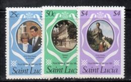 CI921 - St LUCIA 1981 Royal Wedding  ***  MNH - St.Lucia (1979-...)