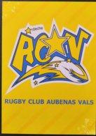 France 2012  - RUGBY Club Aubenas Vals -  ** - Rugby