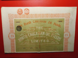 RUSSIE / RUSSIA / THE NORTH CAUCASIAN OIL FIELDS 1920 - Russia