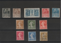 FRANCE - Lot Neuf * - MH - Cote: 68,75 - - Unused Stamps
