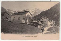 Suisse // Schweiz // Switzerland //  Valais // Chapelle De Ferret - VS Valais