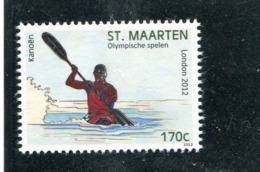 SAINT-MARTIN Maarten 2012 Y&T ??** - Canoa