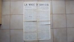 VENEZIA GIULIA GIORNALE QUOTIDIANO LA VOCE DI GORIZIA NUMERO DEL 02.09.1926 - Bücher, Zeitschriften, Comics