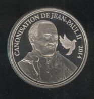 Médaille Canonisation De Jean Paul II - 2014 - Proof - Gettoni E Medaglie