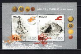 MALTA - 2008 - EMISSIONE CONGIUNTA CON CIPRO - SOUVENIR SHEET - MNH - Malta