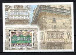 MALTA - 2007 - BALCONI DI MALTA - MALTA BALCONIES - SOUVENIR SHEET - MNH - Malta