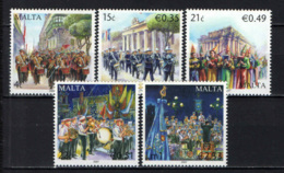 MALTA - 2007 - BANDE MUSICALI MALTESI - MALTESE BANDS - MNH - Malta