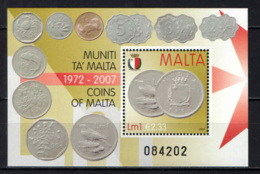 MALTA - 2007 - MONETE DI MALTA DAL 1972 AL 2007 - COINS OF MALTA - MNH - Malta