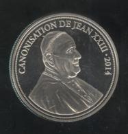 Médaille Canonisation De Jean XXIII - 2014 - Proof - Gettoni E Medaglie