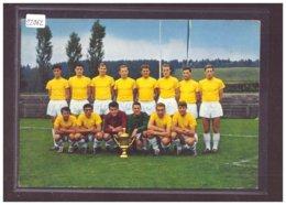 FORMAT 10x15cm - LA CHAUX DE FONDS - FOOTBALL CLUB - CHAMPION SUISSE 1964 - TB - NE Neuenburg
