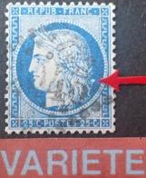 R1752/710 - CERES N°60A - GC 2046 : LILLE (Nord) - VARIETE ➤➤➤ Gros Point Blanc Derrière L'effigie - 1871-1875 Cérès