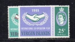 "CI629 - BRITISH VIRGIN ISLANDS , ""International Cooperation Year"" 1965  ***  MNH - Britse Maagdeneilanden"