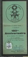 BELGIQUE WATERLOO Célébration De La Légion D'honneur Texte Recto-verso à Lire - Napoléon