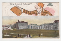 AB858 - ECOSSE - St Andrews From West - Illustration THE LAST MAN - Fife