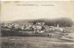 VAUX Et CHANTEGRUE Vue Panoramique - Autres Communes