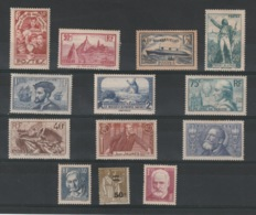 FRANCE - Lot Neuf * - MH - Cote: 137,65€ - Unused Stamps