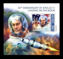 Sierra Leone 2019 Mih. 11182 (Bl.1738) Space. Apollo 11. Moon Landing MNH ** - Sierra Leone (1961-...)