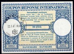 DANEMARK / DENMARK Lo16n 90 ÖRE International Reply Coupon Reponse Antwortschein IRC IAS O CIC XVIII.CONGRESS K'HAVN - Enteros Postales