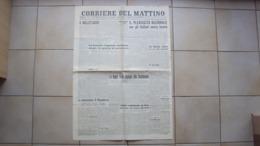 VENETO VERONA GIORNALE QUOTIDIANO IL CORRIERE DEL MATTINO EDIZIONE DEL GENNAIO 1948 - Libri, Riviste, Fumetti