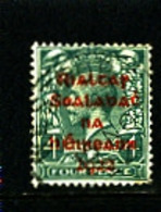 IRELAND/EIRE - 1922  4d  OVERPRINTED DOLLARD IN RED  SG 6a  FINE USED - 1922 Governo Provvisorio