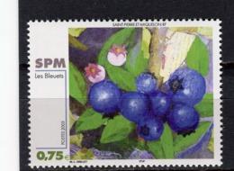 SAINT-PIERRE-ET-MIQUELON - Y&T N° 794** - MNH - Art - Peinture - Les Bleuets De M. -L. Drillet - St.Pierre Et Miquelon