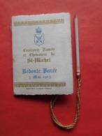 Carnet De Bal Gand 3 Mai 1913 Confrérie Royale Et Chevalière De St Michel / Escrime / Avec Crayon - Sin Clasificación