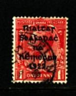 IRELAND/EIRE - 1922  1d  OVERPRINTED  THOM  SG 31  FINE USED - 1922 Governo Provvisorio
