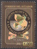 2013 Ecuador Scouting  Complete Set Of 1 MNH - Ecuador