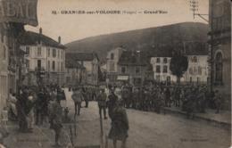 88  GRANGES Sur VOLOGNE  Grand'rue;  Soldats; Troupe; Grande Rue - Granges Sur Vologne