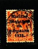 IRELAND/EIRE - 1922  2d  (Die II) OVERPRINTED  THOM  SG 34  FINE USED - 1922 Governo Provvisorio