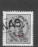 1885 USED  Açores  Mi 55 - Azores