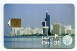 Telecarte °_ Emirats.UAE-87-Dhs30-Buildings- R/V 4314 - Emirati Arabi Uniti