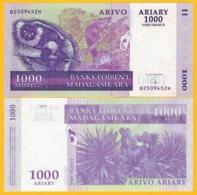 Madagascar 1000 Ariary P-89b 2004 UNC Banknote - Madagascar