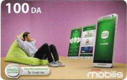 Algeria - Mobilis - Mobi Space, Exp.06.02.2019, GSM Refill 100DA, Used - Algérie
