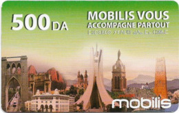 Algeria - Mobilis - Mobilis Vous Accompagne, Exp.06.02.2019, GSM Refill 500DA, Used - Argelia