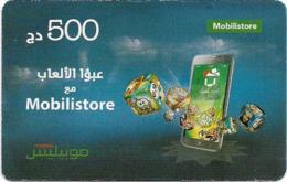 Algeria - Mobilis - Mobilstore, Exp.06.02.2019, GSM Refill 500DA, Used - Algeria