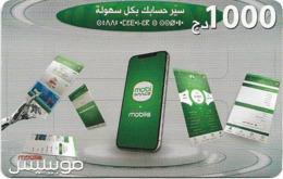 Algeria - Mobilis - Technology Devices, Exp.31.12.2022, GSM Refill 1.000DA, Used - Algerien