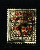 IRELAND/EIRE - 1922  9d AGATE  OVERPRINTED  THOM  IN RED SG 40 USED - 1922 Governo Provvisorio