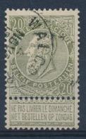 """BELGIE - OBP Nr 59 - Cachet """"WALCOURT"""" - (ref. ST 1197) - 1893-1900 Thin Beard"""
