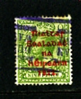 IRELAND/EIRE - 1922  9d OLIVE GREEN  OVERPRINTED  THOM  IN RED SG 41 USED - 1922 Governo Provvisorio