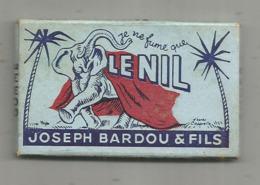 Tabac , Papier à Cigarettes , Je Ne Fume Que LE NIL , Joseph BARDOU & FILS , 3 Scans , Frais Fr 1.85 E - Tabac (objets Liés)