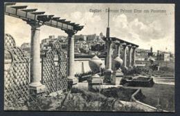 CV2921 CAGLIARI (CA) Terrazza Palazzo Tirzo Con Panorama, FP, Viaggiata 1929 Per Varese, Ottime Condizioni - Cagliari