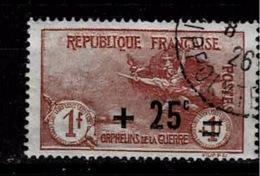 TP N°168, Timbre Oblitéré - France