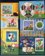 GUINEE EQU. - BF - LOT DE BF SUR LE FOOTBALL - Guinée Equatoriale