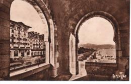 Hendaye - L' Eskualduna Et La Plage De La Terrasse Du Casino - Hendaye