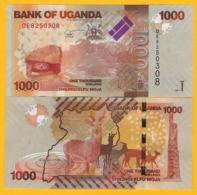 Uganda 1000 Shillings P- 49e 2017 UNC Banknote - Uganda