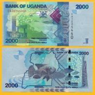 Uganda 2000 Shillings P-50d 2017 UNC Banknote - Oeganda