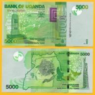 Uganda 5000 Shillings P-51e 2017 UNC Banknote - Ouganda