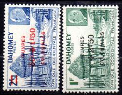 Col17  Colonie Dahomey  N° 153 & 154 Neuf XX MNH  Cote 2,40€ - Unused Stamps