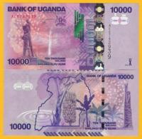 Uganda 10000 (10,000) Shillings P-52a 2010 UNC Banknote - Oeganda